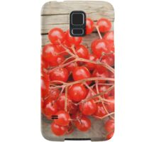 Red berries Samsung Galaxy Case/Skin