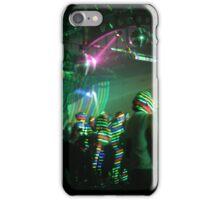 laser stripes iPhone Case/Skin