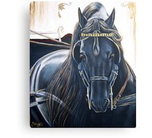 Midnight Carriage Canvas Print