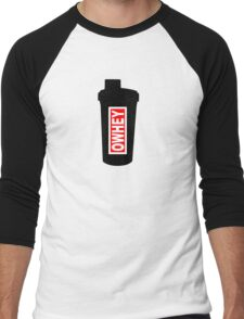 OWHEY Gym  Men's Baseball ¾ T-Shirt