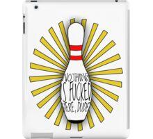 The Big Lebowski DUDE bowling art iPad Case/Skin
