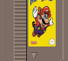 NES Mario 3 Cartridge  by LumpyHippo