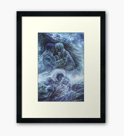 Left hand of darkness Framed Print