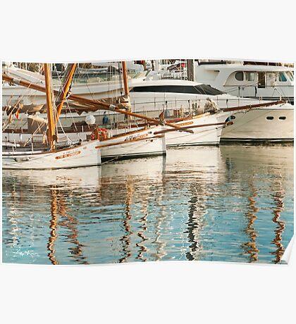 Barca Boats Poster