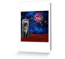 Who Is It Greeting Card