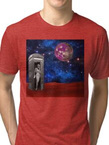 Who Is It Tri-blend T-Shirt