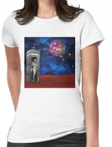 Who Is It Womens Fitted T-Shirt