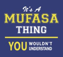 It's A MUFASA thing, you wouldn't understand !! by satro