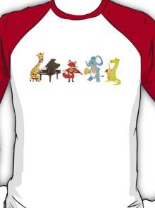 Animal band playing music T-Shirt