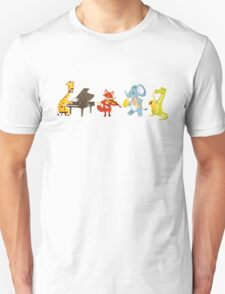Animal band playing music Unisex T-Shirt