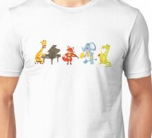 Animal band playing music Unisex T-Shirt