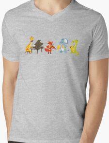 Animal band playing music Mens V-Neck T-Shirt