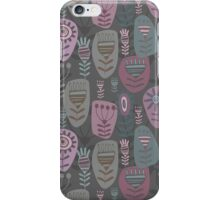 Decoration with abstract flower iPhone Case/Skin