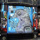 Amsterdam Graffiti Street Art Nr. 3 by Silvia Neto
