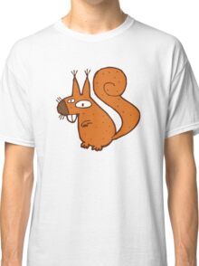 Cute cartoon squirrel Classic T-Shirt