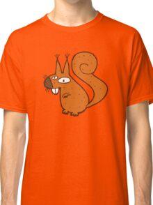 Cute cartoon squirrel Classic T-Shirt