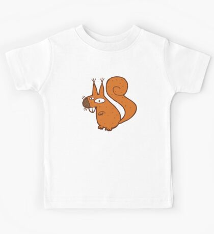 Cute cartoon squirrel Kids Tee