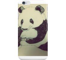 Panda playing Playstation  iPhone Case/Skin