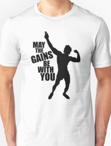 Zyzz May the Gains be with you T-Shirt