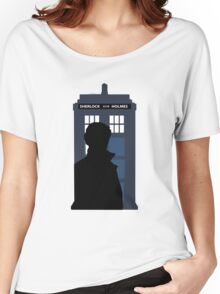 Time and Relative Dimensions in Baker Street Women's Relaxed Fit T-Shirt