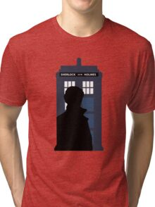 Time and Relative Dimensions in Baker Street Tri-blend T-Shirt