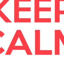 Keep Calm I'm A Nurse Sticker