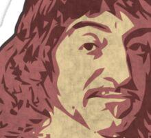 Rene Descartes' Enlightenment Sticker