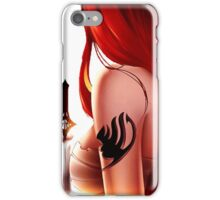 Erza Scarlet iPhone Case/Skin