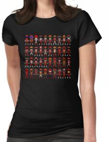 Super Sentai Anniversary 40 Heroes Womens Fitted T-Shirt