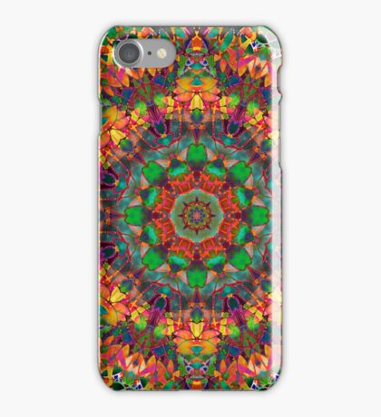 Fractal Floral Abstract iPhone Case/Skin