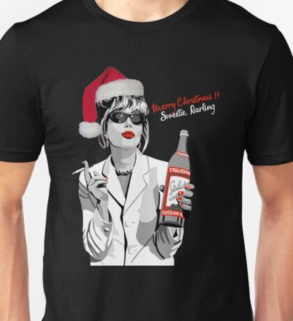 What Would Patsy Do? Merry Christmas.. Sweetie, Darling Unisex T-Shirt