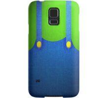 Luigi Suit Samsung Galaxy Case/Skin