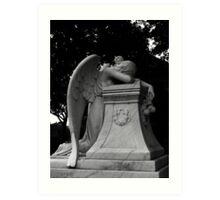 Weeping Angel Art Print