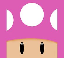 Toadette Face by LumpyHippo