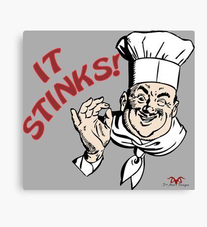 It Stinks! Canvas Print