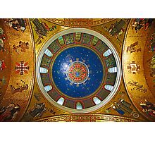 Cathedral Basilica of Saint Louis Interior Study 1  Photographic Print