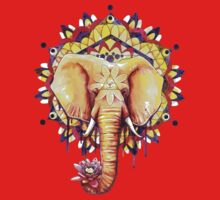 Elephant Mandala Kids Clothes