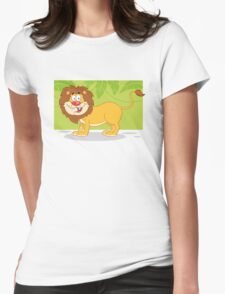 Happy cute cartoon lion T-Shirt
