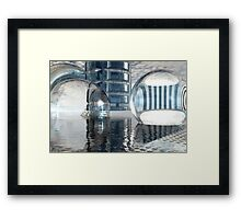 Heavenly Architectures // Anywhere But Here Framed Print