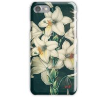The White Lily iPhone Case/Skin