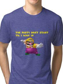 Wario Party Tri-blend T-Shirt