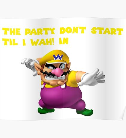 Wario Party Poster