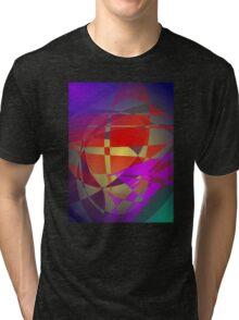 Japanese Traditional Pattern Tri-blend T-Shirt