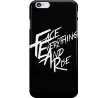 Papa Roach - F.E.A.R (White text) iPhone Case/Skin