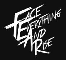 Papa Roach - F.E.A.R (White text) by blackstarshop