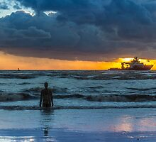 The Polar King from Crosby Beach by Paul Madden