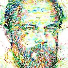 PHILIP K. DICK watercolor portrait by lautir