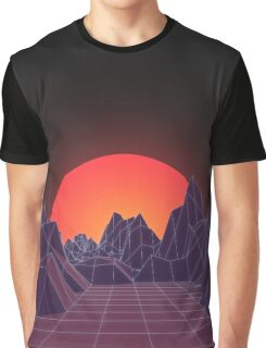 80s Vaporwave Retro Graphic T-Shirt