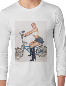 Kylie Jenner Bike Long Sleeve T-Shirt