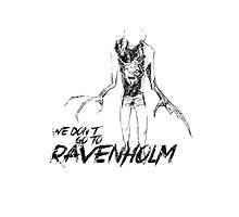 We Don't Go To Ravenholm (Dark) Photographic Print